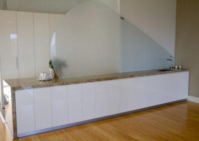 Storage facilities in luxurious Elevate Yoga studio